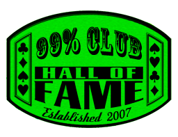 99% Club Hall of Fame