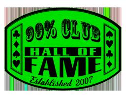 99% Club Hall of Fame